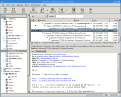 Sylpheed freeware screenshot